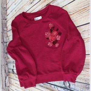 Epic Thread Girls Embellished Sweatshirt